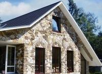 Монтаж фасадов, облицовка зданий кирпичом и камнем в Орле